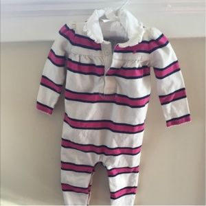 Ralph Lauren 6 Month Striped One Piece Outfit